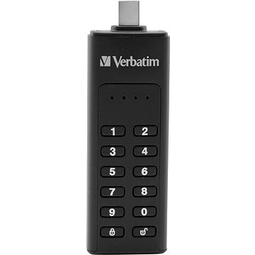 VERBATIM Keypad Secure Drive USB-C 128GB USB 3.1 (49432)