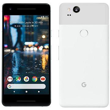 Google Pixel 2 64GB bílý + ZDARMA Cestovní adaptér Goobay UK->EU Power Adapter bílý Digitální předplatné Interview - SK - Roční od ALZY