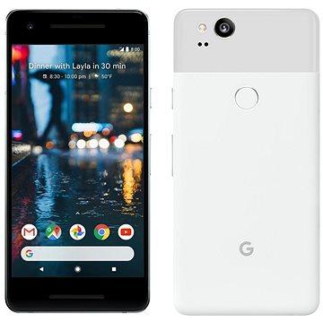 Google Pixel 2 128GB bílý + ZDARMA Cestovní adaptér Goobay UK->EU Power Adapter bílý Digitální předplatné Interview - SK - Roční od ALZY