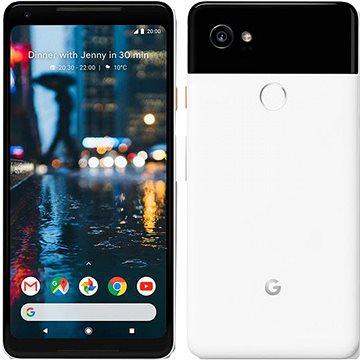 Google Pixel 2 XL 64GB černý/bílý + ZDARMA Digitální předplatné PC Revue - Roční předplatné - ZDARMA Cestovní adaptér Goobay UK->EU Power Adapter bílý Digitální předplatné Interview - SK - Roční od ALZY