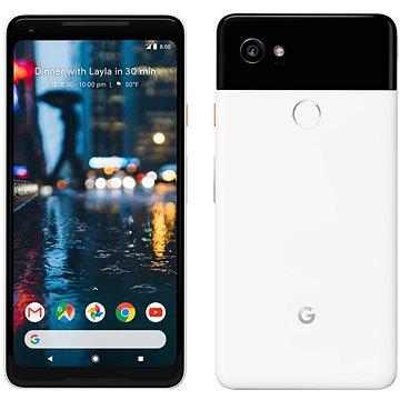 Google Pixel 2 XL 128GB černý/bílý + ZDARMA Digitální předplatné PC Revue - Roční předplatné - ZDARMA Cestovní adaptér Goobay UK->EU Power Adapter bílý Digitální předplatné Interview - SK - Roční od ALZY