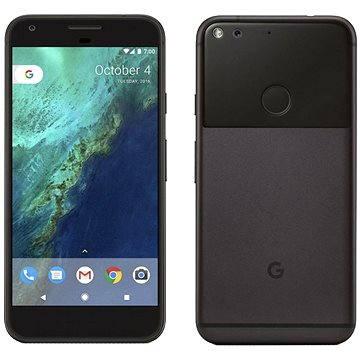 Google Pixel XL Quite Black 128GB + ZDARMA Cestovní adaptér Hama - zásuvkový adaptér z Británie do ČR