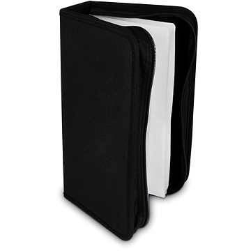 COVER IT pouzdro na 128 CD/DVD zapínací černé (29040)