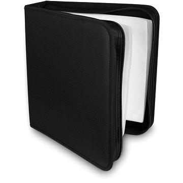 COVER IT na 200 CD/DVD zapínací černé (29039)