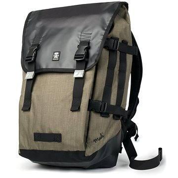 Crumpler Muli Backpack - XL - černý/tarpaulin/khaki (MUBP-XL-004)