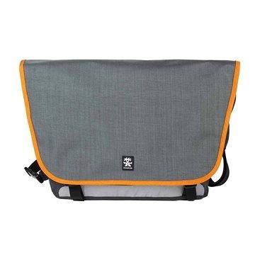 Crumpler Dinky Di Laptop Messenger L - dk. mouse grey/pumpkin orange (DDLM-L-013)