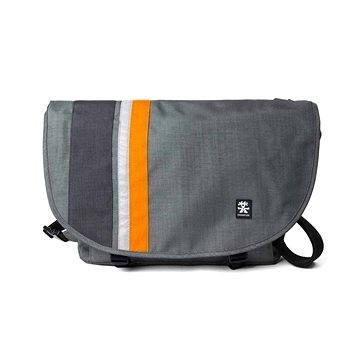 Crumpler Dinky Di Messenger M - dk. mouse grey/pumpkin orange (DDM-M-013)