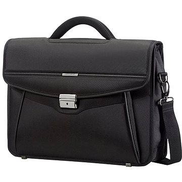 Samsonite Desklite Briefcase 1 Gusset 15.6 Black (50D09001)