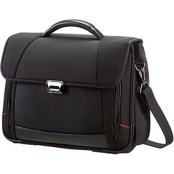 Samsonite PRO-DLX 4 Briefcase 2 Gussets černá (35V09005)