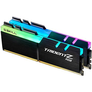 G.SKILL 16GB KIT DDR4 3200MHz CL14 Trident Z RGB (F4-3200C14D-16GTZR)