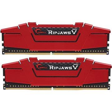 G.SKILL 8GB KIT DDR4 2400MHz CL15 RipjawsV (F4-2400C15D-8GVR)