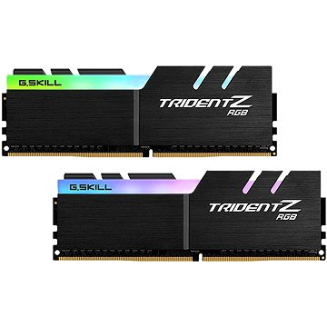 G.SKILL 16GB KIT DDR4 3200MHz CL14 Trident Z RGB for AMD (F4-3200C14D-16GTZRX)