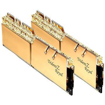 G.SKILL 16GB KIT DDR4 3200MHz CL16 Trident Z Royal RGB gold (F4-3200C16D-16GTRG)