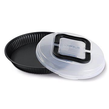 GUARDINI Forma na koláč s plastovým krytem 28cm (56028FPBAK)
