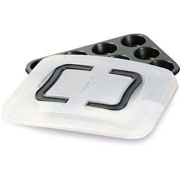 GUARDINI Plech na muffiny 12ks s plastovým krytem 35.5x27cm (59912BAK)