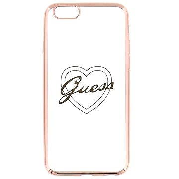 Guess Signature Heart Rose Gold (3700740378885)