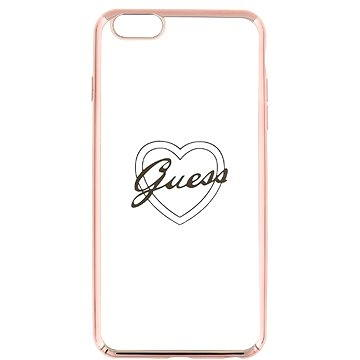 Guess Signature Heart Rose Gold (3700740376133)