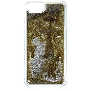 Guess Liquid Glitter Triangle Gold (3700740398333)