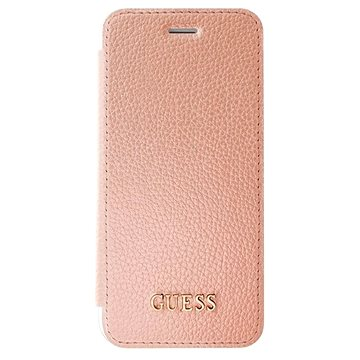 Guess IriDescent Book Rose Gold pro Apple iPhone 7 Plus (3700740397855)
