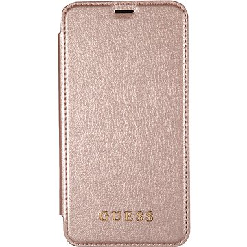 Guess Iridescent Book pro Apple iPhone X Rose Gold (3700740407844)