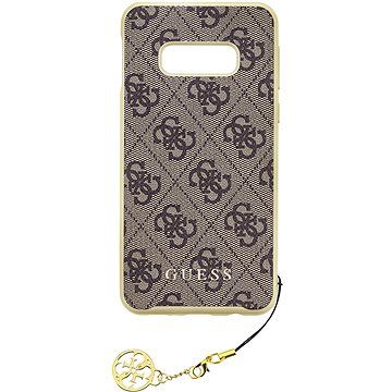 Guess Charms Hard Case 4G Brown pro Samsung G970 Galaxy S10e (3700740448236)