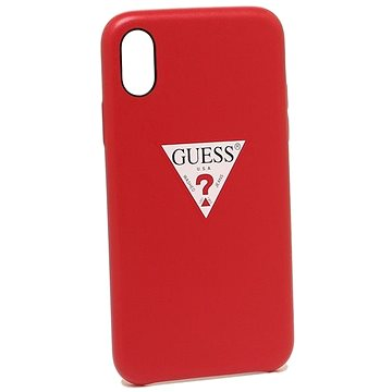 Guess Triangle Hard Case Red pro iPhone X/XS (3700740423509)