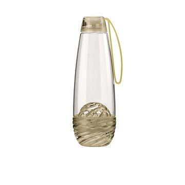 Guzzini Láhev na vodu 0.75l s infuserem na ovoce žlutá 11640139 (11640139)