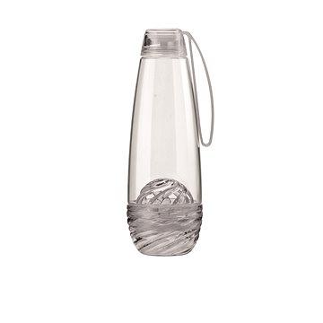 Guzzini Láhev na vodu 0.75l s infuserem na ovoce šedá 11640192 (11640192)