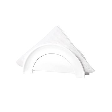 forme casa Držák na ubrousky plastový bílý (9905011)