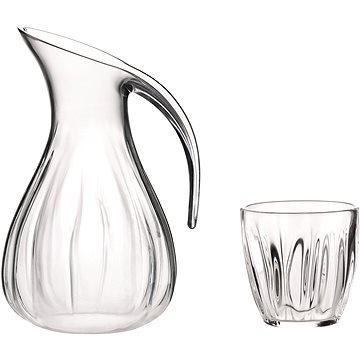Guzzini Sada plastový džbán 2l a 6 ks pohárů 350ml (28817600)