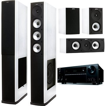 ONKYO TX-NR656 černý + Jamo S 628 HCS bílé