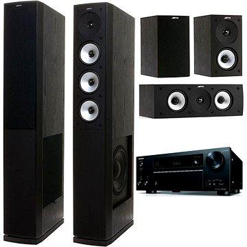 ONKYO TX-NR656 černý + Jamo S 628 HCS černé
