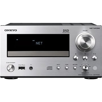 ONKYO CR-N765 stříbrný + Klipsch Reference R-15M