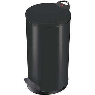 Odpadkový koš Hailo nášlapný koš 19L černý lak (0520-219)