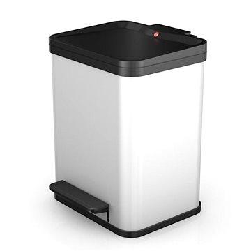 Odpadkový koš Hailo nášlapný koš se soft close zavíráním 17l bílý lak (0619-230)