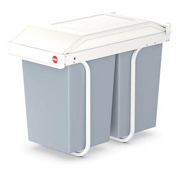 Odpadkový koš Hailo vestavěný systém na třídění odpadků 2x14L (3659-001)