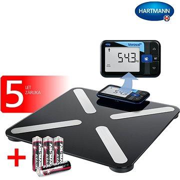Hartmann Veroval® inteligentní osobní digitální váha (9253740)