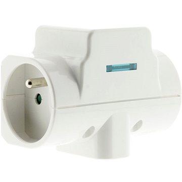 HBF přepěťová ochrana do zásuvky bílá (211118)