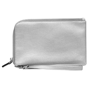 Hbutler Mightypurse iPhone Charging Wallet Silver (MP515)
