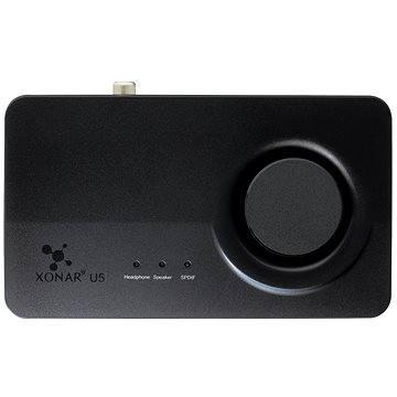 ASUS Xonar U5 (90YB00FB-M0UC00) + ZDARMA Podložka pod myš ASUS Echelon Mouse Pad