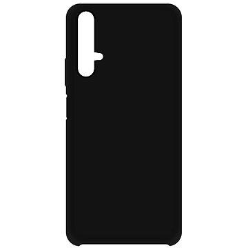 Hishell Premium Liquid Silicone pro Honor 20 / Huawei Nova 5T černý (HISHa90)