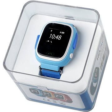 Dětské hodinky Helmer LK 703 modré (8595568486325) + ZDARMA SIM karta GoMobil s kreditem 100Kč