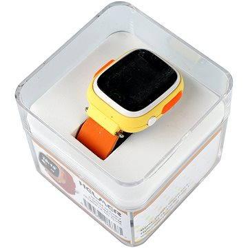Dětské hodinky Helmer LK 703 žluté (8595568486363) + ZDARMA SIM karta GoMobil s kreditem 100Kč
