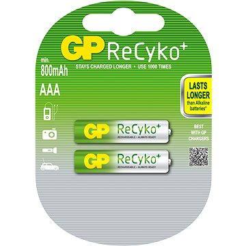 GP AAA mikrotužkové ReCyko 2x 800mAh (GP85AAAHCB)