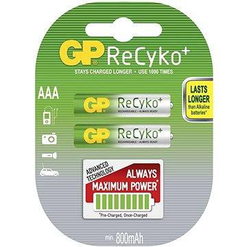 GP AAA mikrotužkové ReCyko 2x 800mAh (1033112061)