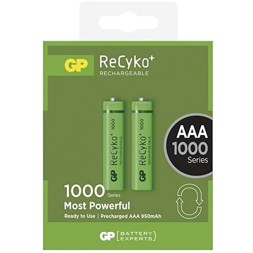 GP Recyko HR03 (AAA) 930mAh 2ks (1032112080)