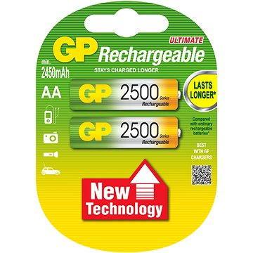 GP AA tužkové NiMH 2500mAh 2 ks (GP250AAHC)