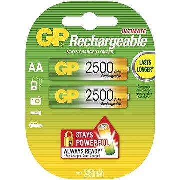 GP AA tužkové NiMH 2450mAh 2 ks (1032212115)