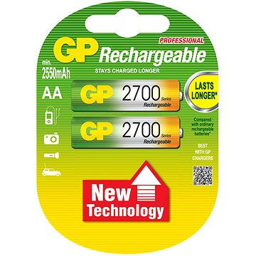 GP AA NiMH 2700mAh 2ks (GP270AAHC)