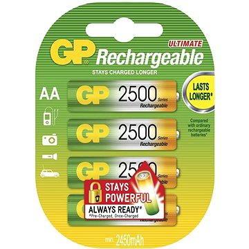 GP HR6 (AA), 4ks v blistru (1032214119) + ZDARMA Nabíječka GP PowerBank PB410